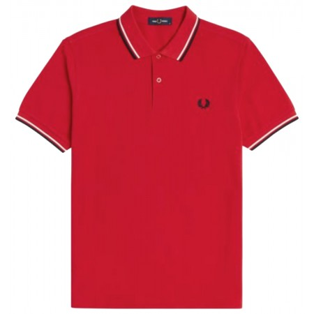 Polo Fred Perry M3600 Racing Red