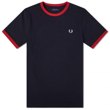 Tee Shirt FRED PERRY A BORDS...