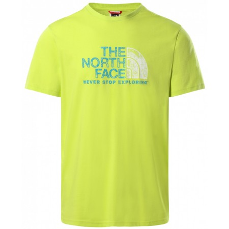 Tee Shirt THE NORTH FACE RUST GREEN