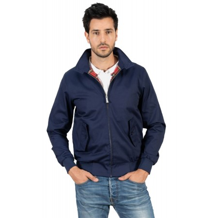 Blouson Harrington French Navy