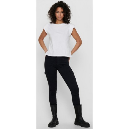 Pantalon Cargo Only Black