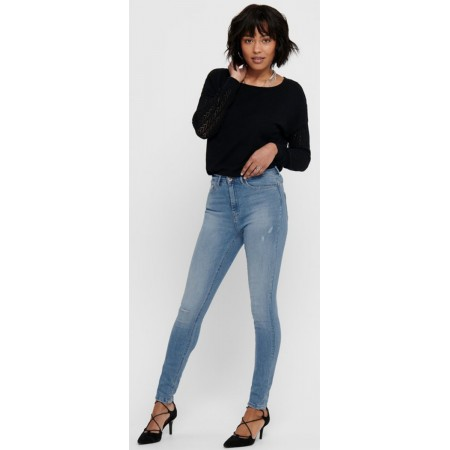 JEAN ONLY SKINNY TAILLE HAUTE