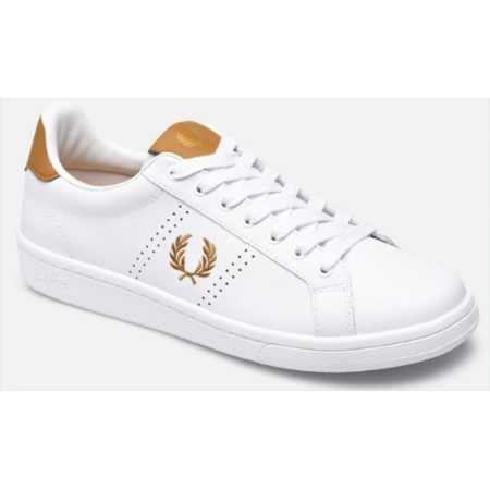 BASKETS FRED PERRY CUIR