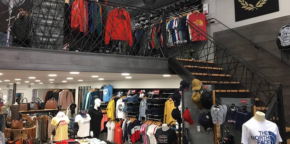 Magasin de vêtements The Store à Béthune